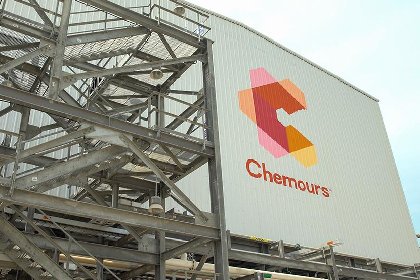 exterior shot of altamira chemours plant